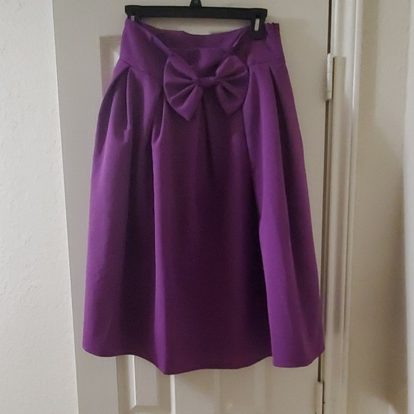 Persun Dresses & Skirts - Purple A line skirt
